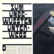 <cite>Frankfurter Allgemeine Magazin</cite> feature spreads, 1980s