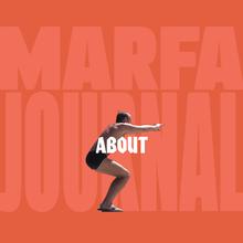 <cite>Marfa Journal</cite> website