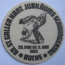 Swiss beermat