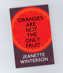 Jeanette Winterson book covers for Vintage Books