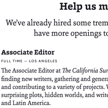 <cite>The California Sunday Magazine</cite> website