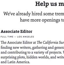 <cite>The California Sunday Magazine</cite> website