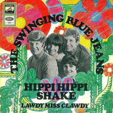 <cite>Hippy Hippy Shake</cite> by The Swinging Blue Jeans
