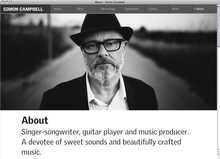Simon Campbell website