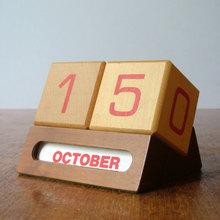1960s perpetual calendar