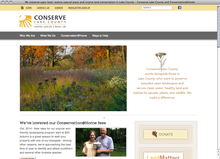 <cite>Conserve Lake County</cite> website