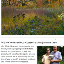 <cite>Conserve Lake County</cite> website