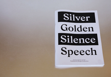 <cite>Silver Silence Golden Speech</cite>