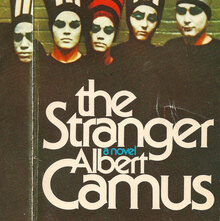 <cite>The Stranger</cite> book cover