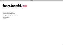 Ben Koski website