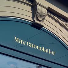 Max Chocolatier branding