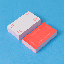 Form Studio Business Card