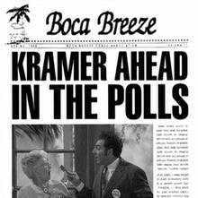 Boca Breeze newsletters in <cite>Seinfeld</cite>