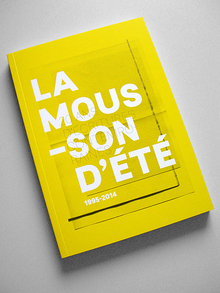 <cite>La mousson d'été : 20 ans d'écritures contemporaines</cite>
