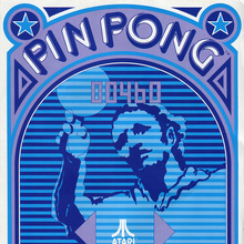 Atari Pin Pong flyer