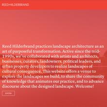 <cite>Reed Hilderbrand</cite> website
