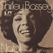 <cite>Natali / Runaway</cite> by Shirley Bassey (7″ single, Netherlands)