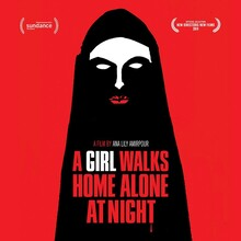 <cite>A Girl Walks Home Alone At Night</cite> poster