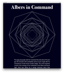 Albers in Command