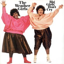 <cite>Big Girls Don't Cry</cite> by The Weather Girls