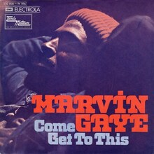 <cite>Come Get To This</cite> by Marvin Gaye