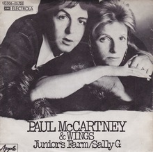<cite>Junior's Farm / Sally G.</cite> by Paul McCartney & Wings