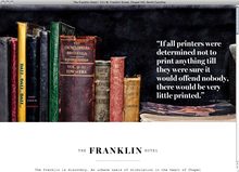 <cite>The Franklin Hotel NC</cite> website