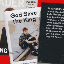 <cite>Fader</cite> Magazine, Issue 90