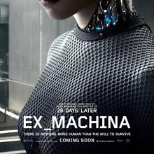 <cite>Ex Machina</cite> logo, posters, and marketing