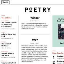 <cite>Hazlitt</cite> Magazine