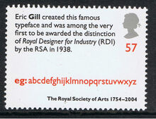 Royal Society of Arts 250th Anniversary stamps