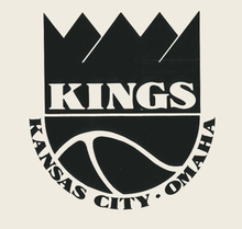 Kansas City-Omaha Kings logos, pennant, program
