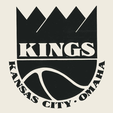 Kansas City-Omaha Kings logos, pennant, program