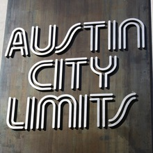 <cite>Austin City Limits</cite> Logo/Identity