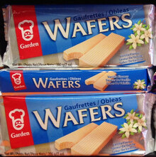 Garden Wafers packaging