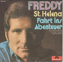 <cite>St. Helena / Fahrt ins Abenteuer</cite> by Freddy Quinn