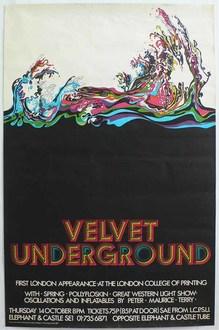 Velvet Underground at The London College of Printing