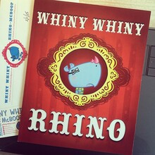 <cite>Whiny Whiny Rhino</cite> by McBoop