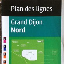 Divia public transit plans, Ville de Dijon