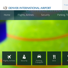 <cite>Denver International Airport</cite> website