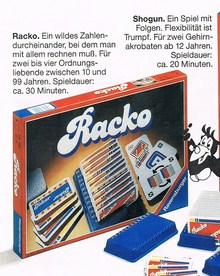 Racko (Rack-o), Ravensburger edition