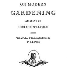 <cite>On Modern Gardening</cite>