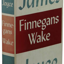 <cite>Finnegans Wake</cite>, 1st edition