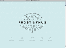 <cite>Frost & Fnug</cite> website