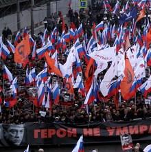 Boris Nemtsov protest