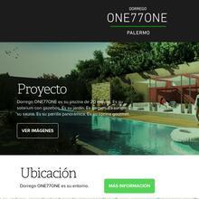 Dorrego ONE77ONE website