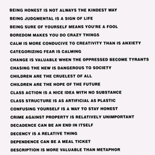 <cite>Truisms</cite> by Jenny Holzer