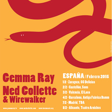 Gemma Ray tour poster