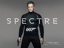 <cite>Spectre</cite> logo and teaser poster