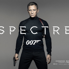 <cite>Spectre</cite> logo and teaser poster